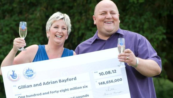 La pareja ganó 148 millones de libras esterlinas en 2012. (Foto: thesun.co.uk).
