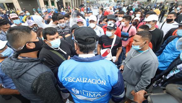 Aglomeraciones de todo tipo en Lima y a nivel nacional. (Foto referencial: Eduardo Cavero/ @photo.gec)
