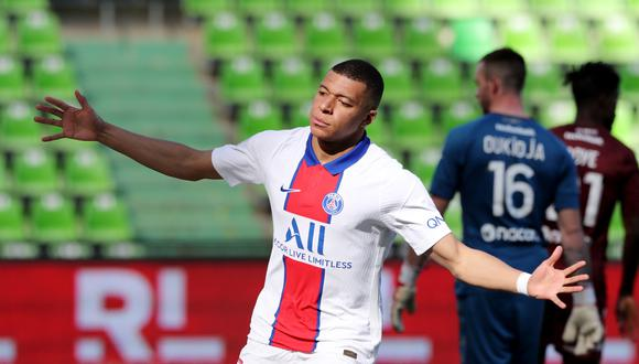 Kylian Mbappé, con un doblete, devolvió al PSG a lo más alto de la Ligue One   VIDEOS