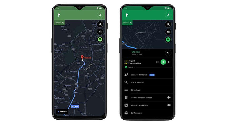 Llega el modo oscuro a la aplicación de Google Maps y así es como puedes obtenerla. (Foto: Google)