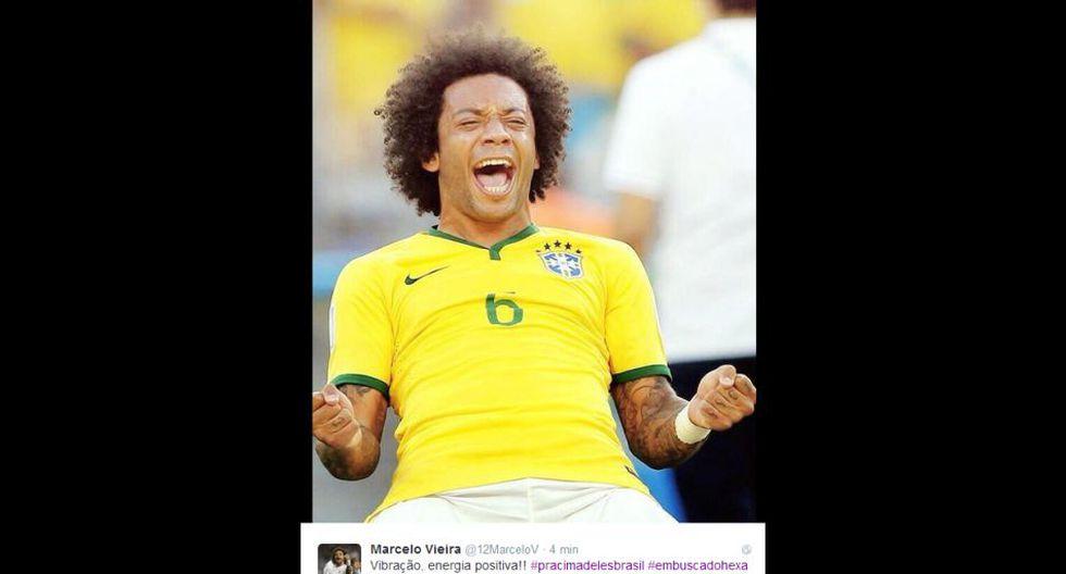 Brasil 2014: lo que tuitean los jugadores en un día sin fútbol - 4