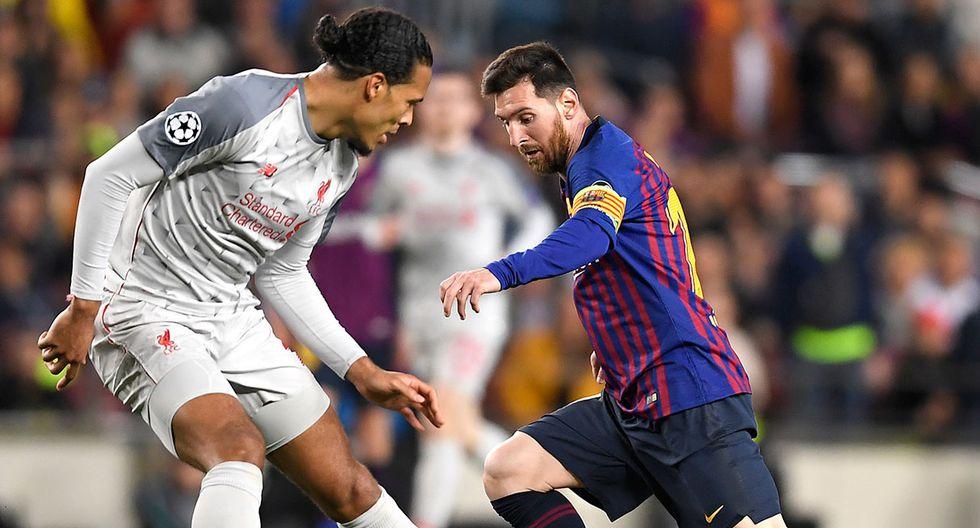 Lionel Messi fue elegido por Virgil Van Dijk como el rival más duro al que enfrentó. (Foto: AFP)