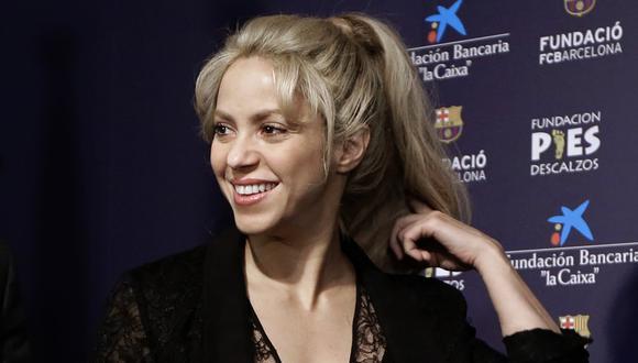 Shakira. (Foto: AP)