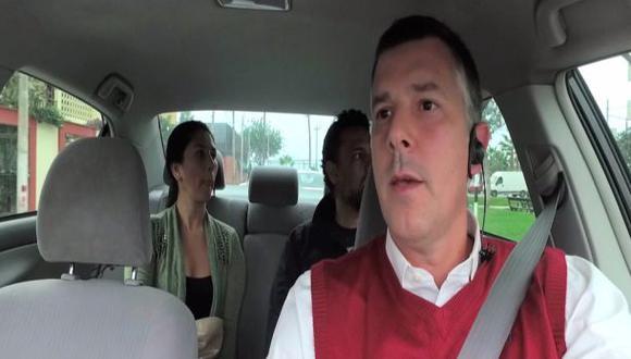 "CEO taxista: ""Si aplican lo que escucha, habrá un cambio"""