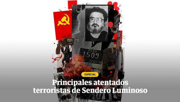 Una lista con los casos más emblemáticos en que la insania terrorista de Sendero Luminoso actuó en el país. (Imagen: El Comercio)