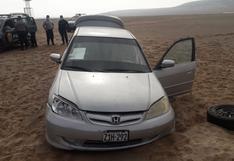 Moquegua: sujeto ebrio intentó embestir con su auto a militares y policías en Ilo   FOTOS