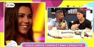 EET: Hugo García revela divertidos detalles de cómo conquisto a Mafer Neyra