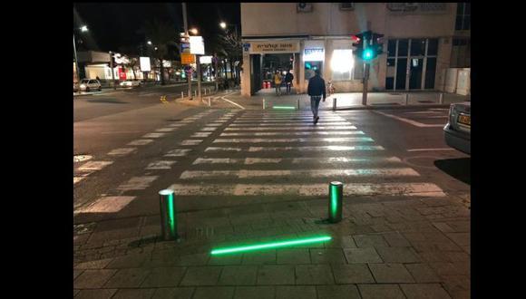 Las autoridades de la ciudad israelita dispusieron esta iniciativa a fin de proteger a los ciudadanos que no se despegan de sus celulares. (Foto: Municipalidad de Tel Aviv-Yafo)