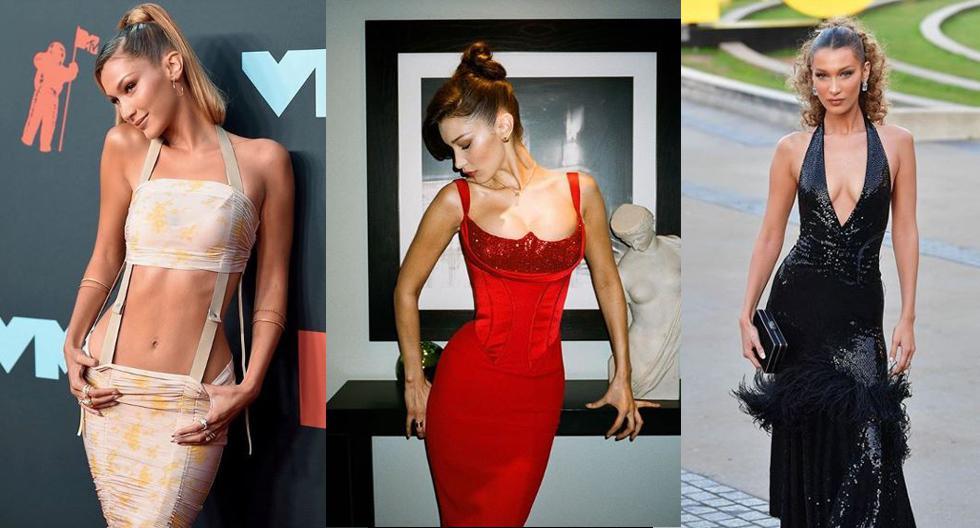 Bella Hadid siempre apuesta por llevar vestidos ceñidos al cuerpo y de siluetas sensuales. En esta nota, recordamos sus mejores looks en eventos y alfombras rojas. (Fotos: Instagram/ @bellahadid)