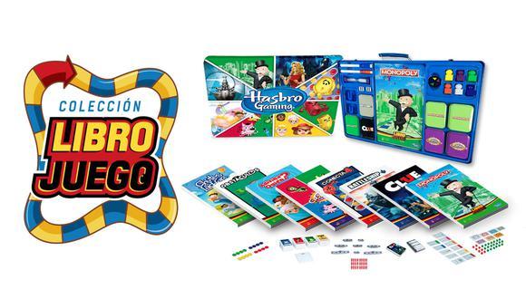 Una colección con los mejores juegos de mesa licenciados por Hasbro.