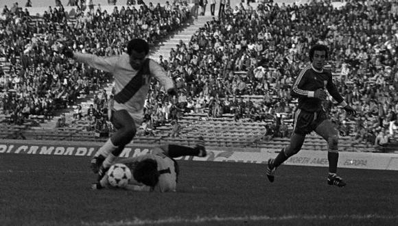 """Cuando Teófilo Cubillas fue """"técnico"""" en un Mundial de fútbol"""