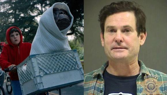 """Henry Thomas, protagonista de la película """"ET, el extraterrestre"""", fue arrestado por conducir ebrio. (Foto: Composición)"""