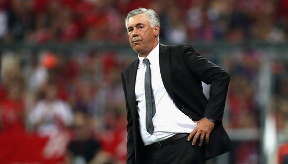 """Carlo Ancelotti confirmó que recibió llamadas de la Federación Italiana. Sin embargo, prefiere seguir entrenando clubes. """"No quiero cambiar de oficio"""", dijo. (Foto: AP)"""