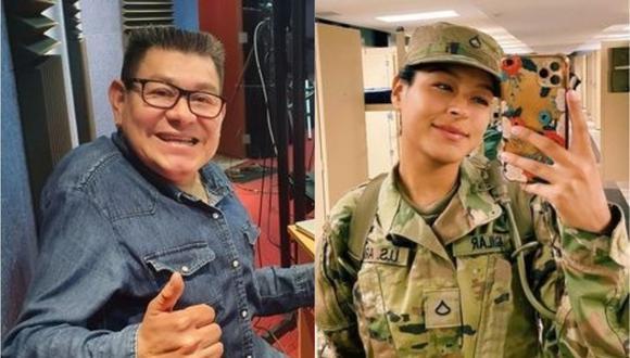 Dilbert Aguilar envía mensaje a su hija que vive en Estados Unidos. (Foto: @dilbertaguilaroficial)
