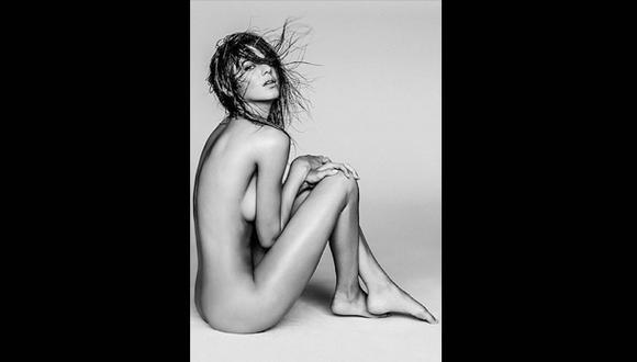 Kendall Jenner posó completamente desnuda para libro de modas