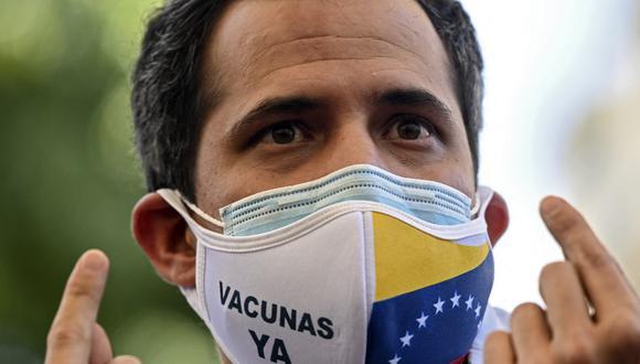 El líder opositor de Venezuela Juan Guaidó. (Archivo / Yuri CORTEZ / AFP).