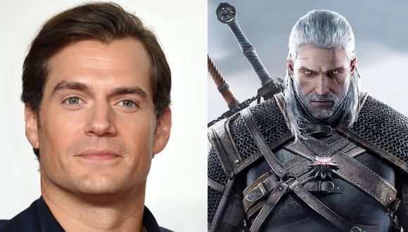"""De izquierda a derecha, Henry Cavill y el personaje que interpretará en """"The Witcher"""" de Netflix: Geralt de Rivia. (Fotos: EFE/ CD Project RED)"""