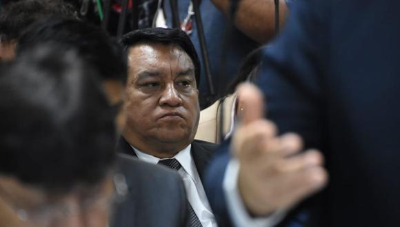 José Luna Gálvez estuvo presente en el segundo día de sustentación del pedido de prisión preventiva en su contra. (Foto: Difusión)