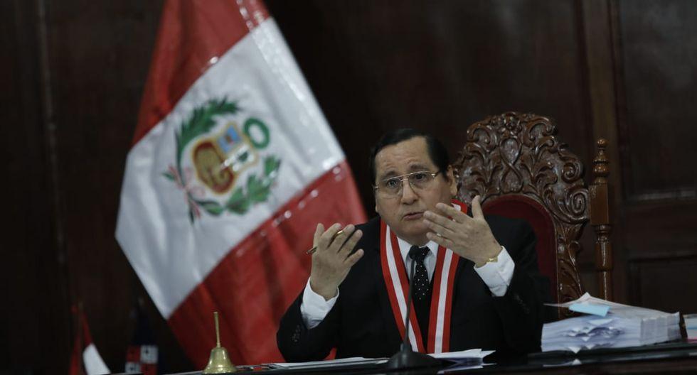 Juez Hugo Núñez Julca evaluará este jueves pedido de impedimento de salida del país para Salvador Ricci, por el caso Cuellos Blancos del Puerto (Foto: GEC)