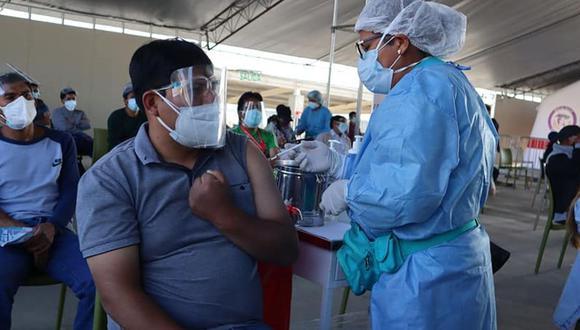 La Diresa de Junín espera que la población tome conciencia y complete la inoculación con las dos dosis para estar bien protegida contra el COVID-19 (Foto: Diresa Junín / Facebook)