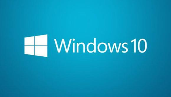 Windows 10. (Foto: Archivo)