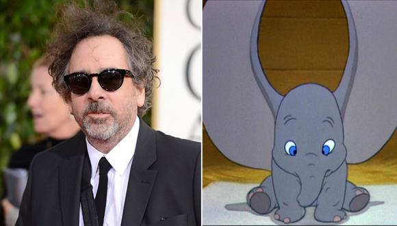 "Tim Burton dirigirá nueva película de ""Dumbo"""