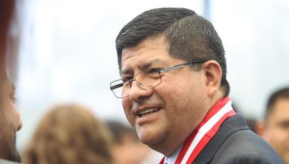 Ex juez Pablo Talavera fue elegido presidente del CNM