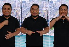 Coronavirus en Perú: Moisés Piscoya Arteaga, el retrato del joven que salva vidas con sus señas