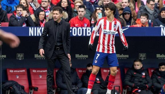 Joao Félix y Diego Simeone pusieron punto final a los rumores sobre su supuesta mala relación.