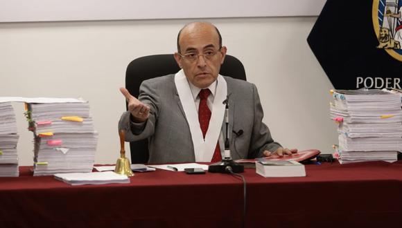 El juez Víctor Zúñiga lleva en el Poder Judicial desde 1988.  Hasta enero del año pasado trabajó en la Corte de Justicia de Arequipa. (Foto: Antonhy Niño de Guzmán)