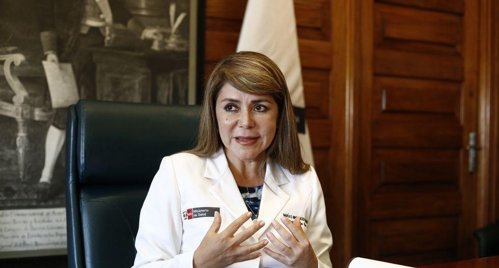 Ministra de salud Elizabeth Hinostroza. (Foto: Joel Alonzo)