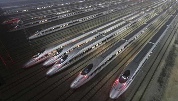 "China desarrolla ""trenes bala"" de 400 km/hora para Rusia"
