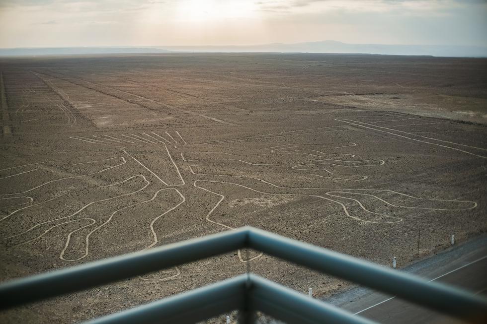 Líneas de Nazca desde el nuevo mirador