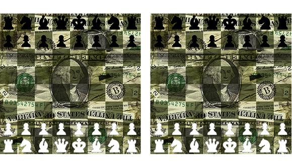 """""""El dinero no puede subordinar a la política"""". (Ilustración: Giovanni Tazza)"""