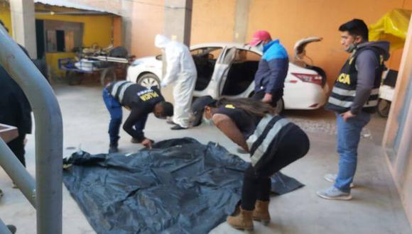 Arequipa: Taxista desaparecido en asalto es encontrado muerto y con signos de tortura (Foto: PNP)