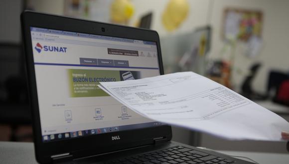 Sunat inició una campaña de notificación para que declaren voluntariamente esas rentas a través de comunicaciones directas al Buzón Sunat, al correo electrónico y a los números celulares. (Foto: GEC)
