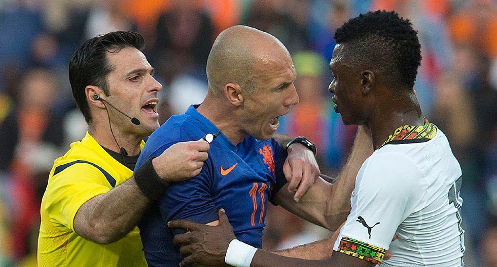 El enojo de Robben y las mejores postales del Holanda-Ghana - 1