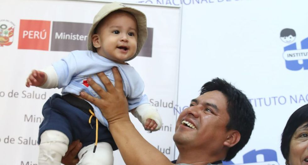 El pequeño Rodrigo ya fue dado de alta. (Foto: Alessandro Currarino)