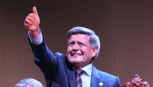 César Acuña lidera lista presidencial que participará en las elecciones internas del partido que preside, APP. (Foto: Johnny Aurazo / El Comercio)