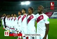 Perú vs. Brasil: ¡De vuelta en casa! Así se entonó el Himno Nacional en Lima | VIDEO