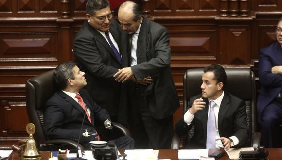 Mario Mantilla (Fuerza Popular) y Mauricio Mulder (Apra) serán candidatos en las elecciones parlamentarias de enero de 2020. (Foto: El Comercio)