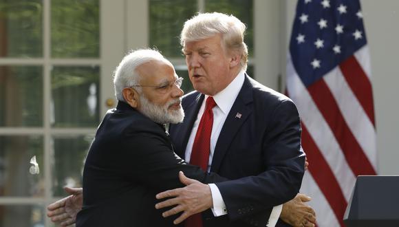 """El líder de la India, que regirá los destinos del país por 5 años más tras ser reelecto, ha sido llamado """"nuestro Trump"""" por muchos de sus partidarios. (Reuters)"""