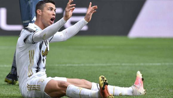 Cristiano Ronaldo fue criticado por dos figuras retiradas de la Serie A. (Foto: EFE)