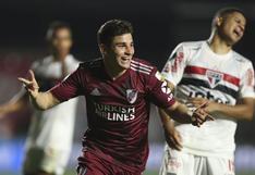 River Plate rescató un punto en su visita a Sao Paulo por la Copa Libertadores