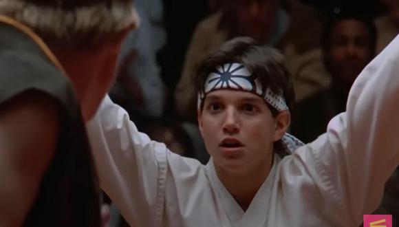 Una magnífica patada le permitió a Daniel LaRusso ganar el torneo de karate ante Johnny Lawrence (Foto: Karate Kid / Columbia Pictures)