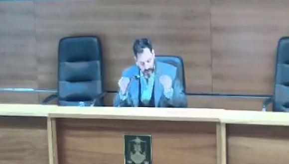 """El video con las declaraciones del juez Rodolfo Mingarini se difundieron el mismo día en que el movimiento de activistas feministas """"Ni una menos"""" cumplió seis años de lucha contra la violencia machista. (Foto: Twitter)"""