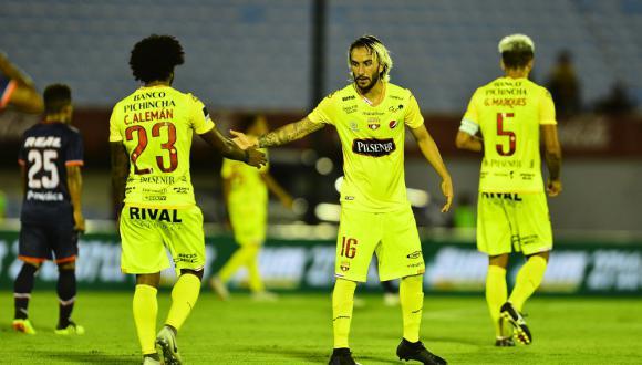 Barcelona de Guayaquil mide fuerzas este miércoles (04:15 pm. / EN VIVO ONLINE vía FOX Sports) contra Defensor Sporting, por la segunda etapa de la Copa Libertadores. (Foto: Agencias)