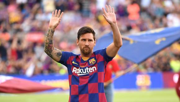Lionel Messi tiene contrato con FC Barcelona hasta mediados del 2021. (Foto: AFP)