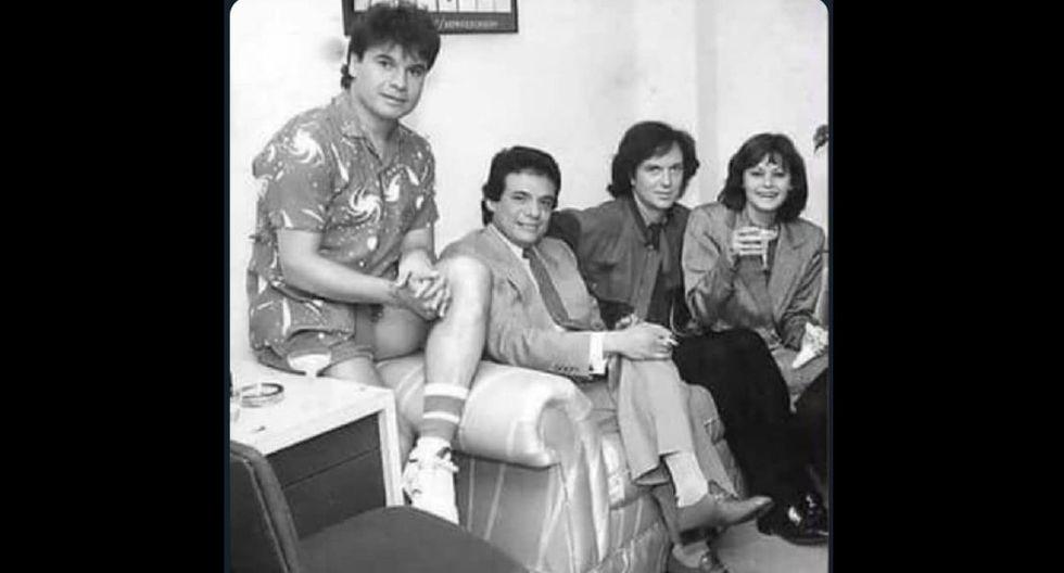Juan Gabriel, José José, Camilo Sesto y Rocío Durcal. Voces de oro que se fueron.