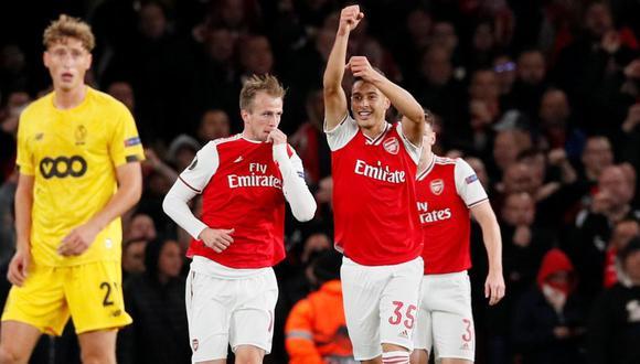Arsenal vs. Standard Lieja: se enfrentaron en la Europa League. (Foto: Reuters)